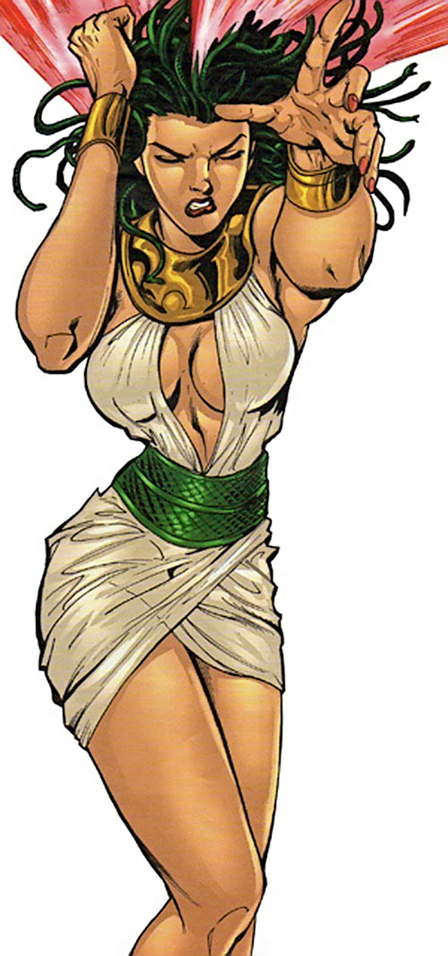 Valentina the Serpent Queen (Darna enemy)