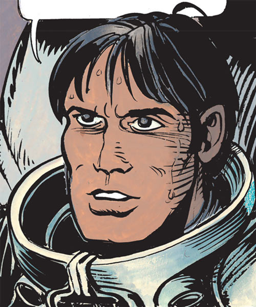 Valerian (and Laureline graphic novels) sweaty portrait