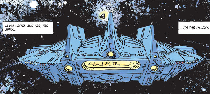 Valerian (and Laureline graphic novels) iconic starship