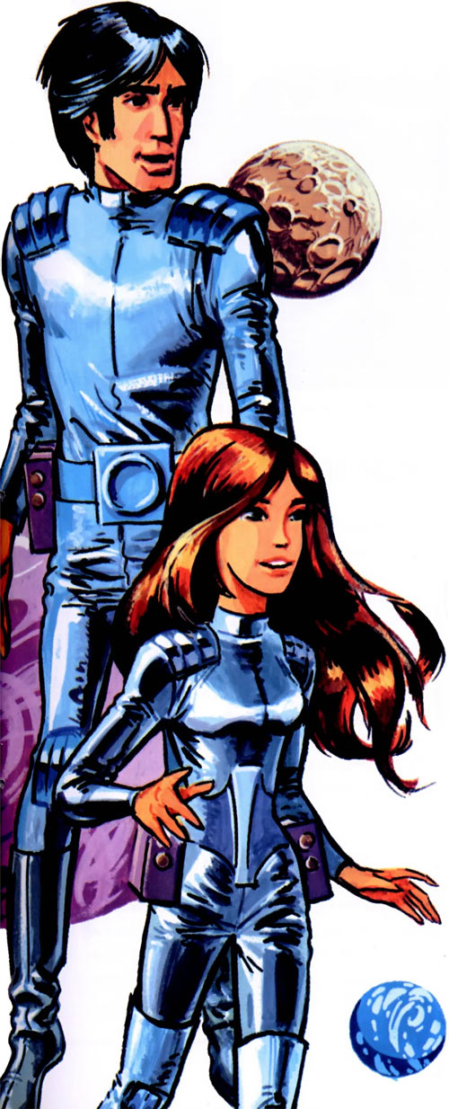 Valerian and Laureline (plot/story article) from the early albums