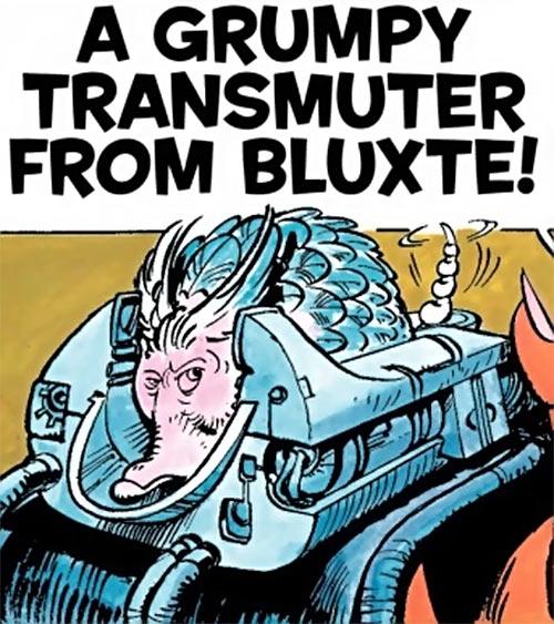 Valerian & Laureline - Useful alien animals - Grumpy transmuter in its craddle