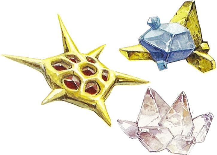 Valerian & Laureline - Useful alien animals - living stones from Arphal