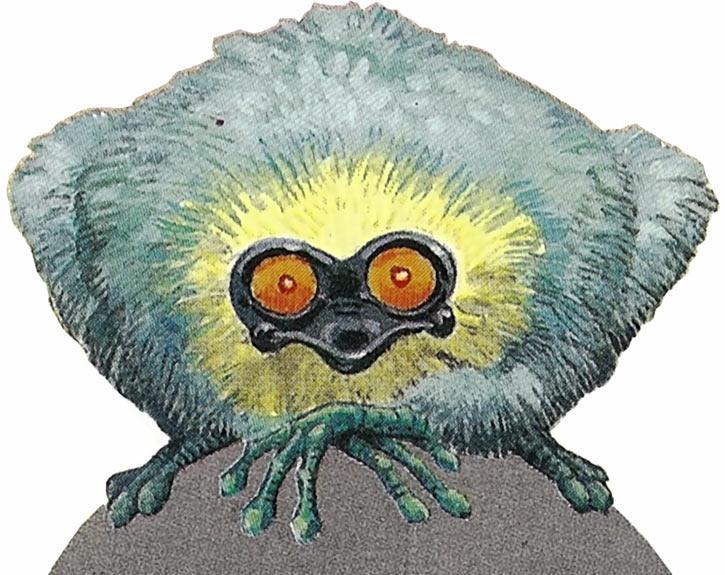 Valerian & Laureline - Useful alien animals - Spiglic from Bluxte