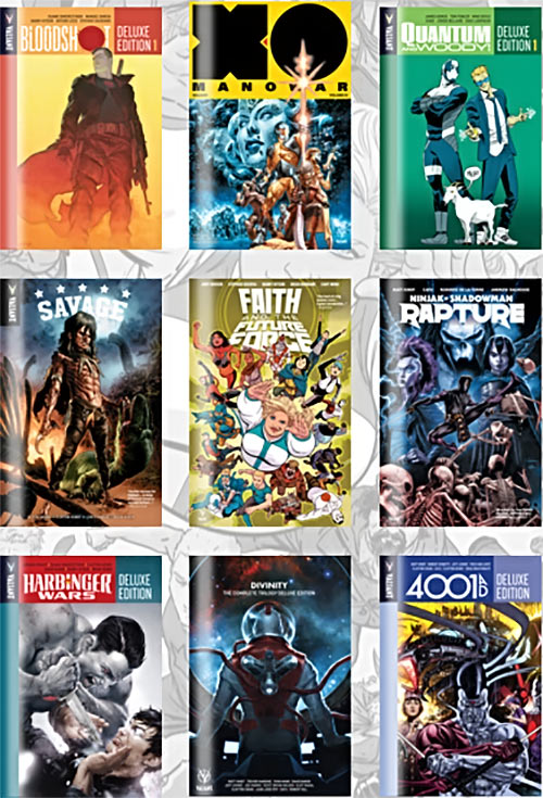 Valiant Universe comics Humble Bundle offer