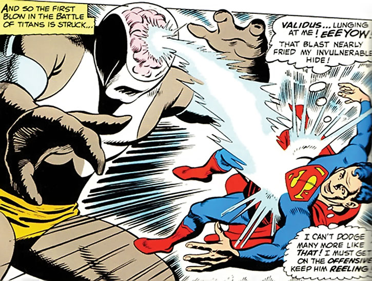 Validus vs. Superboy