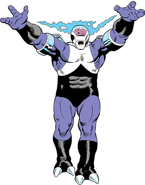 Validus of the Fatal Five (Legion of Super-Heroes enemy) (pre-boot DC Comics) advancing
