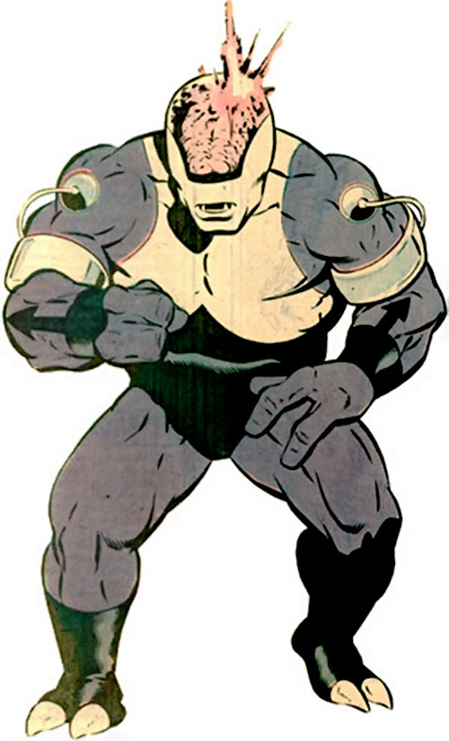 Validus of the Fatal Five (Legion of Super-Heroes enemy) (pre-boot DC Comics)