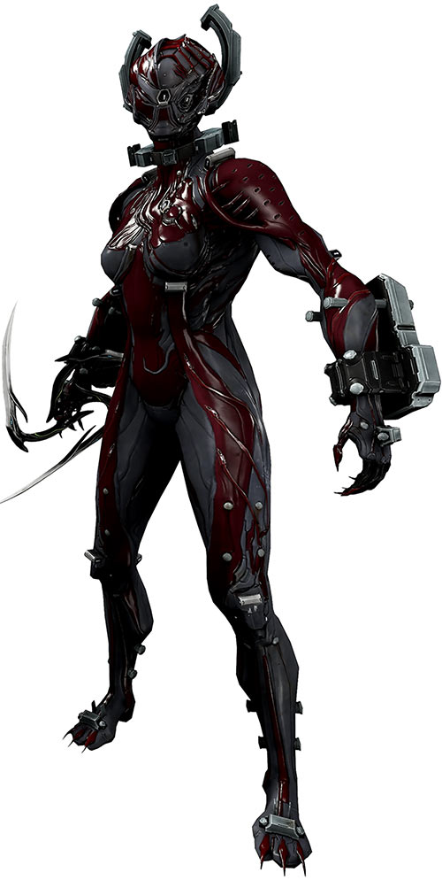 Valkyr warframe full view