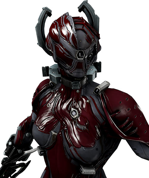 Valkyr warframe close view