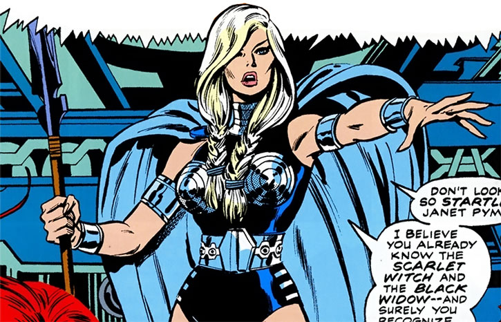 The Valkyrie founding the Lady Liberators