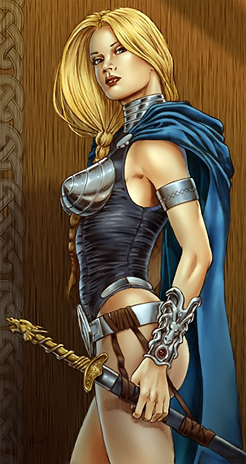 Valkyrie by Mitch Foust, in color