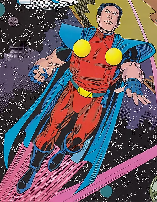 Valor (DC Comics) from the 1993 Who's Who