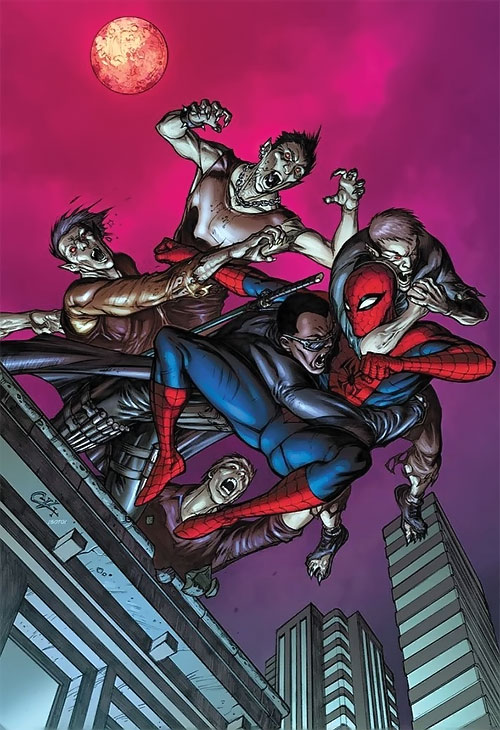 Vampires, Blade and Spider-Man