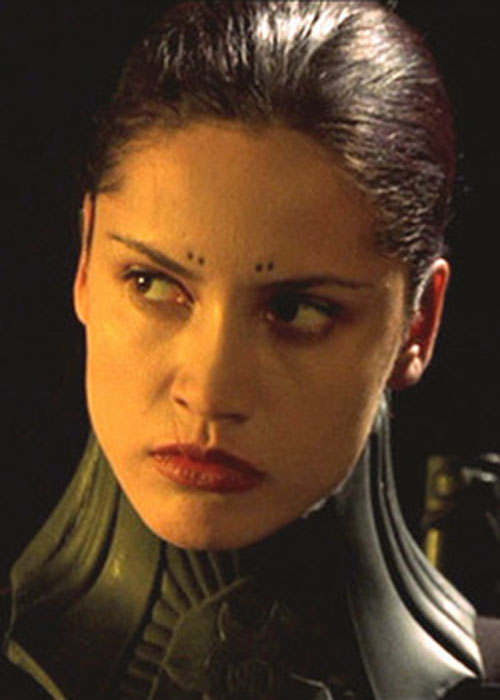 Nyssa (Leonor Varela) in Blade movies 2/2