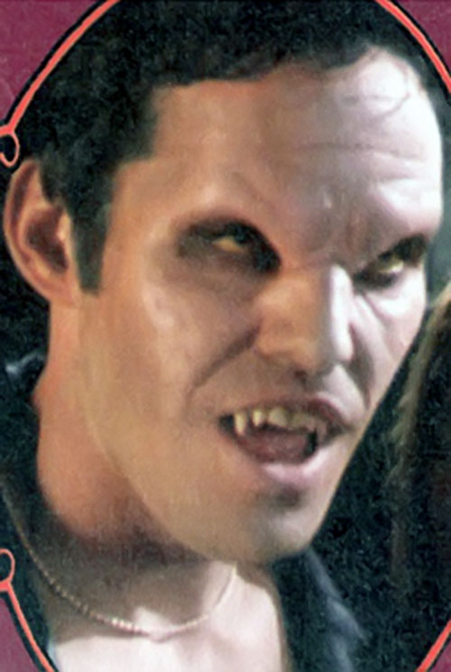 Angel's game face from Buffy the Vampire Slayer