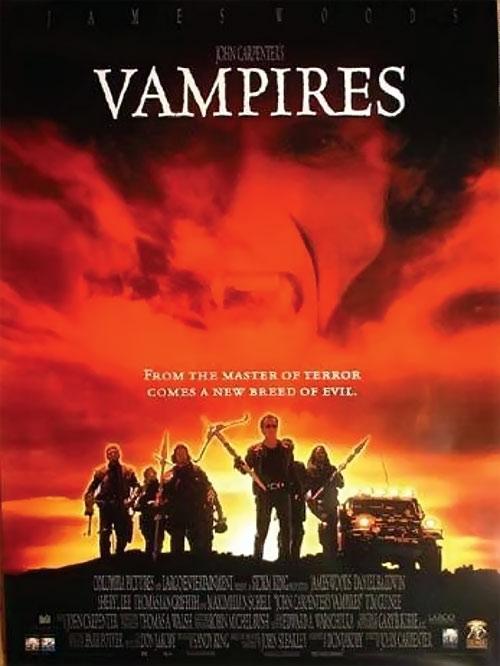 John Carpenter Vampires movie poster