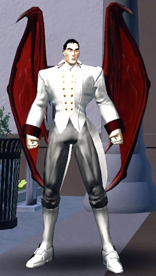 Vampyre (DC Heroes RPG) in white