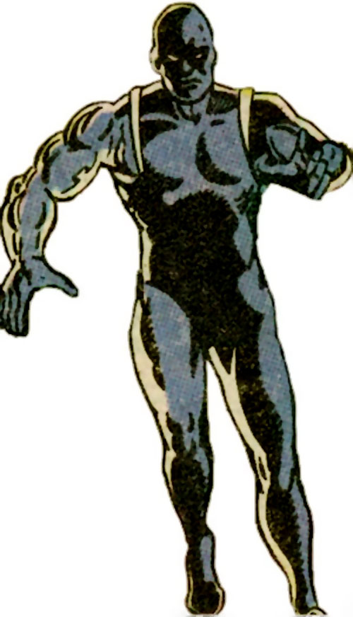 Vance Astro aka Major Victory of the Guardians of the Galaxy (Marvel Comics) in the dark gray suit