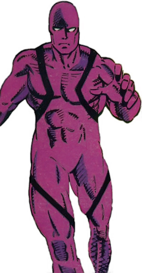 Vance Astro aka Major Victory of the Guardians of the Galaxy (Marvel Comics) in the purple suit