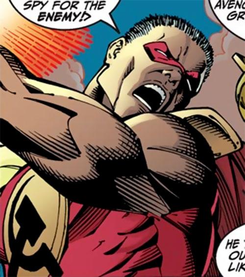 Vanguard of the Winter Guard (Marvel Comics) closeup