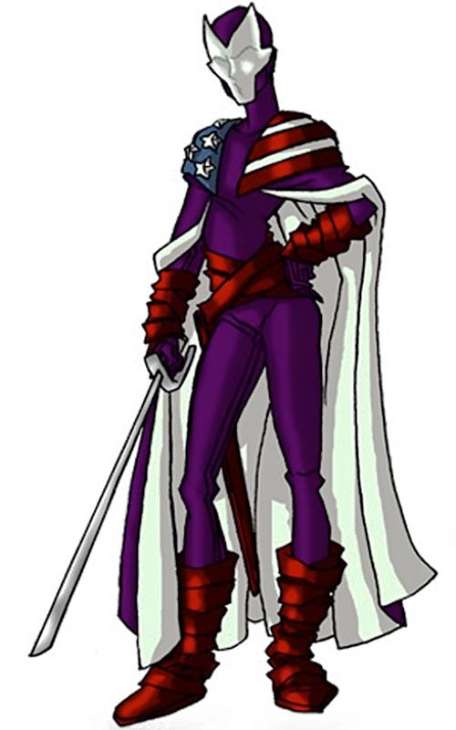 Dallas Riordan (Thunderbolts) (Marvel Comics) as Citizen V by RonnieThunderbolts