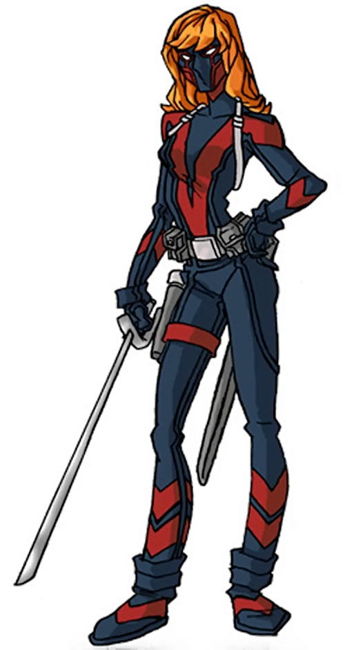 Dallas Riordan (Thunderbolts) (Marvel Comics) as Vantage by RonnieThunderbolts