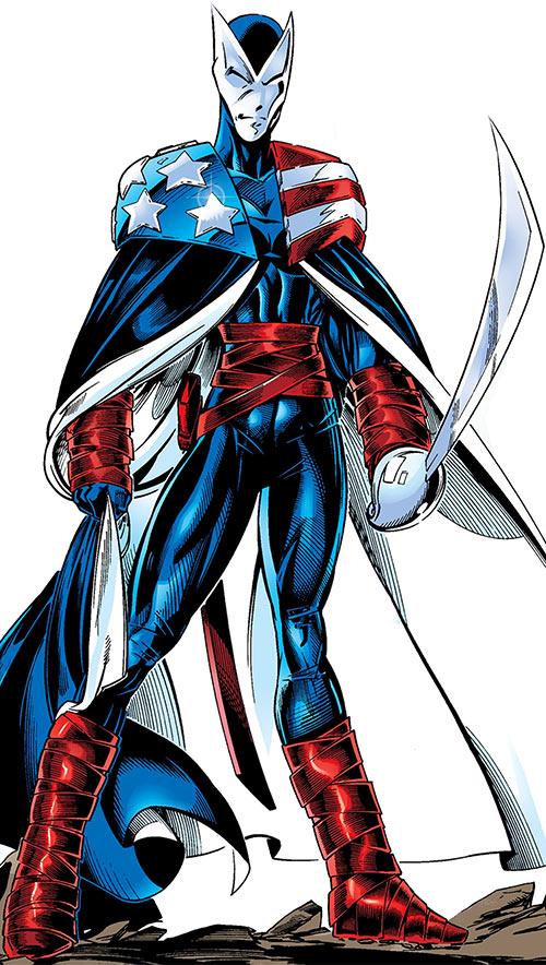 Dallas Riordan aka Vantage (Marvel Comics) in her Citizen V costume