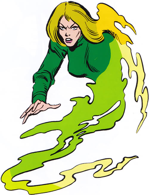Vapor of the U-Foes (Hulk enemy) (Marvel Comics) from the Handbook