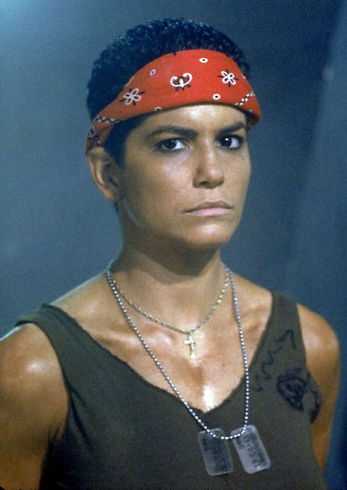Vasquez (Jenette Goldstein in Aliens)