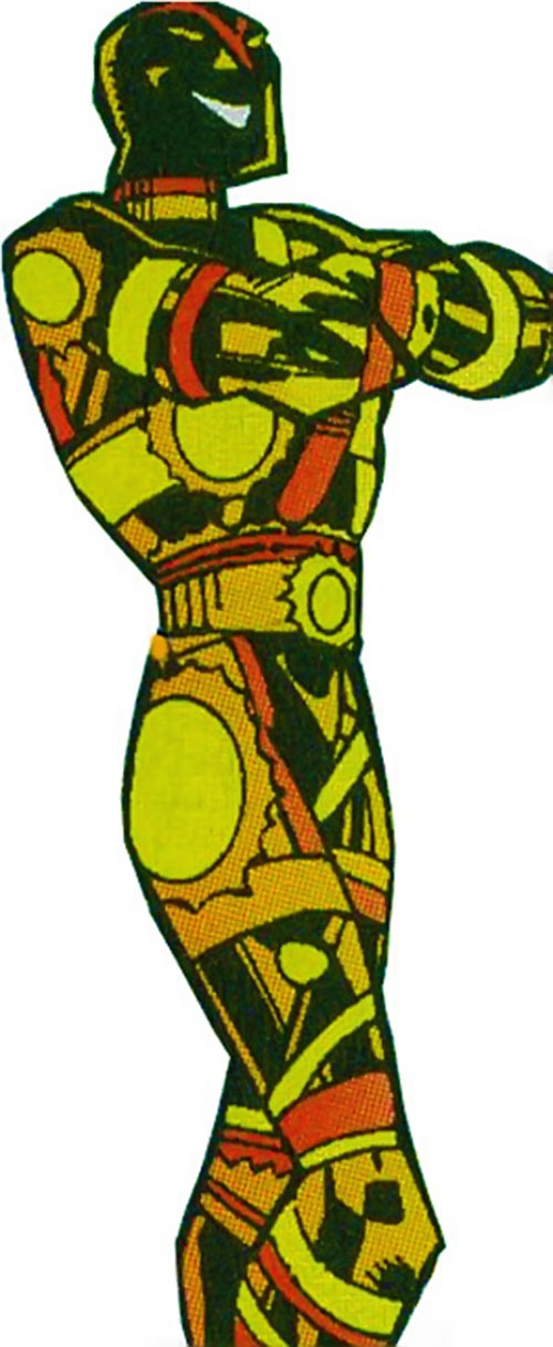 Vector of the U-Foes (Hulk enemy) (Marvel Comics) with crossed arms