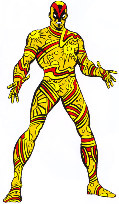 Vector of the U-Foes (Hulk enemy) (Marvel Comics) from the Handbook