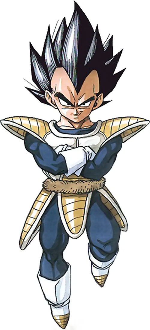 Vegeta from Dragon Ball