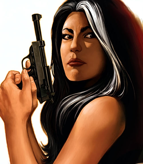 Velvet Templeton (Image Comics by Brubaker and Epting)