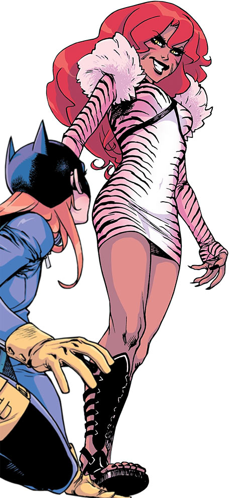 Velvet Tiger (Batgirl of Burnside enemy) (DC Comics)