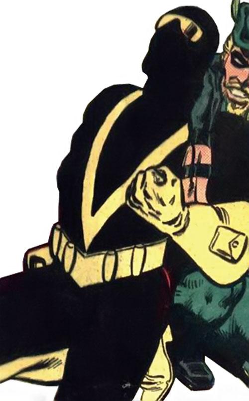 Vengeance (Detective Comics DC) vs. Green Arrow