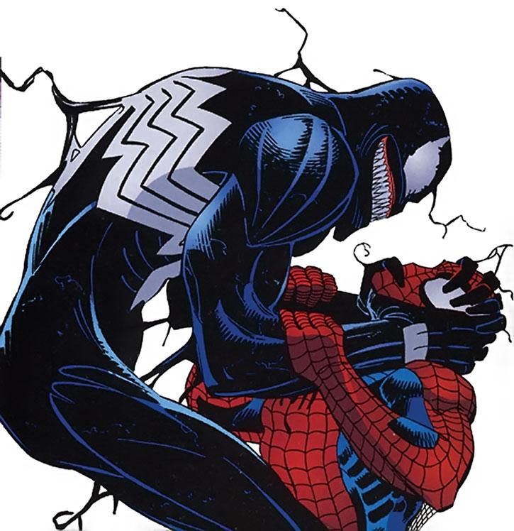 Venom (Eddie Brock) vs. Spider-Man by Lee Week