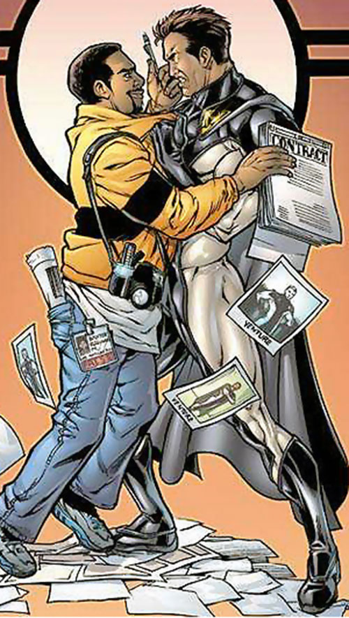 Venture (Image Comics) and Reggie