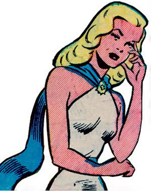 Venus (1950s vintage Atlas Comics) bothered