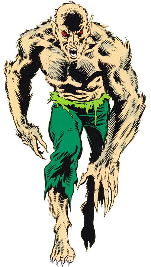 Vermin (Marvel Comics) from the older handbook