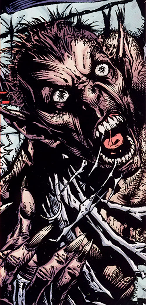 Vermin (Marvel Comics) face closeup