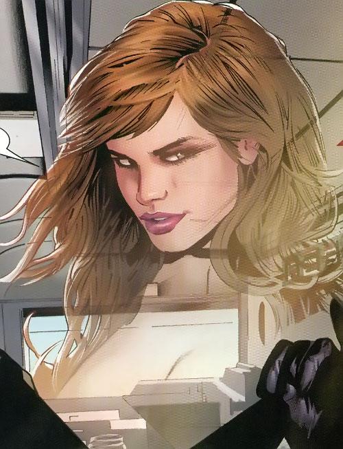 Verre (X-Men enemy) (Marvel Comics) translucent