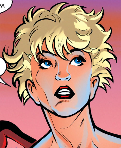 Vicious of the Ravens (Bird of Prey enemy) (DC Comics) face closeup