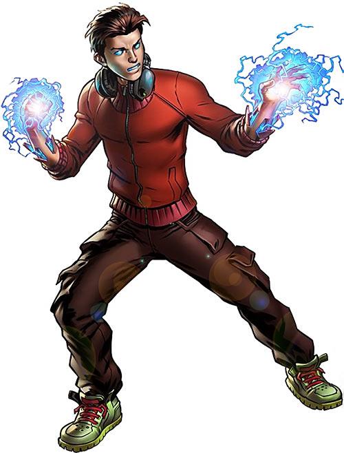Victor Mancha - Marvel Comics - Runaways - Lightning hands