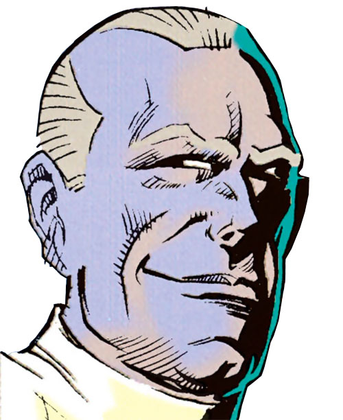 Victor Singleton (Batman and Ragman enemy) (DC Comics) face closeup