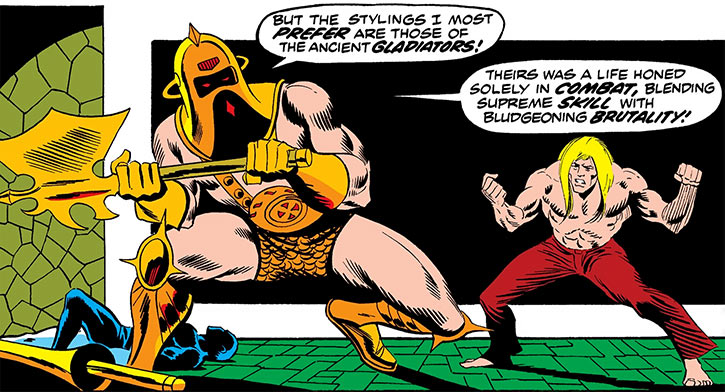 Victorius (Marvel Comics) vs. Ka-Zar