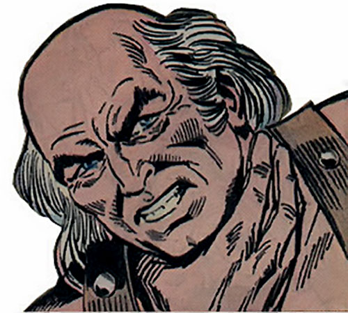 Victorius (Ka-Zar enemy) (Marvel Comics) face closeup