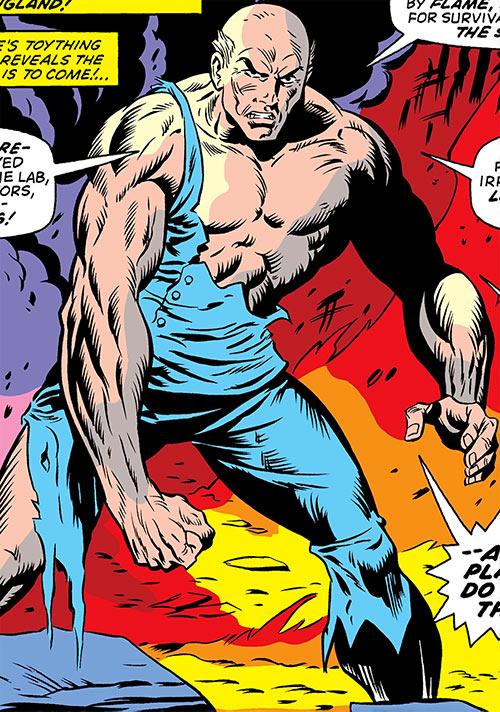 Victorius (Ka-Zar enemy) (Marvel Comics) enhanced by the super-soldier serum