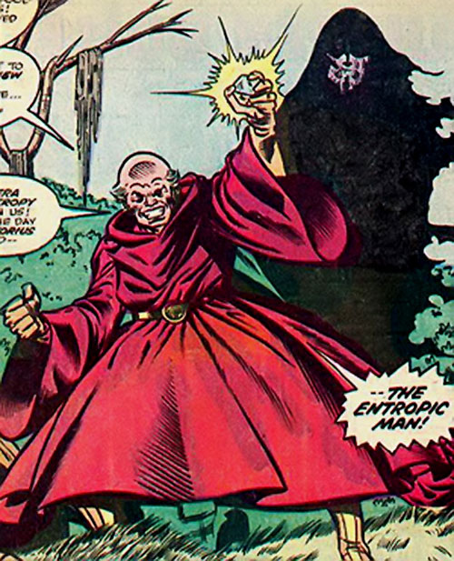 Victorius (Thing enemy) (Marvel Comics) and Jude the Entropic Man