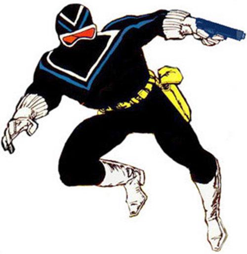 Vigilante (Adrian Chase) with a pistol