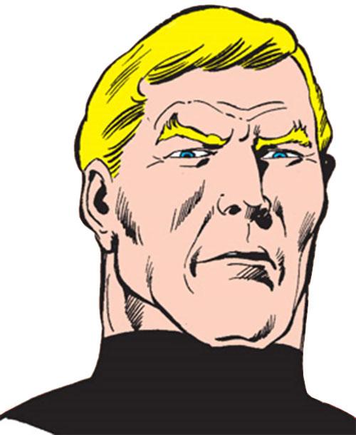 Vigilante (Adrian Chase) face closeup